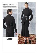 V1466 Vogue Sewing Pattern Designer Donna Karan Jacket Skirt Sizes 6-14