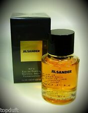 Jil Sander No 4 Eau de Parfum (EdP) 100 ml Spray Originalverpackt mit Folie