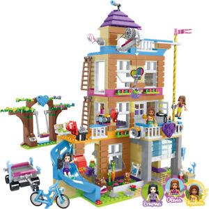 Building Blocks Girls Friendship House Model Stacking Bricks Friends Gifts UK *+