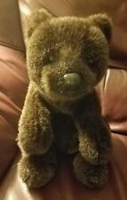 "12""  Teddy Bear GUND Brown soft and fluffy w/ tag VG internal noise maker works"
