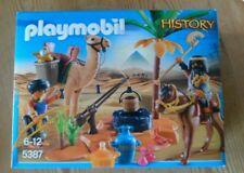 playmobil history 5387 camel and egyptian figures brand new