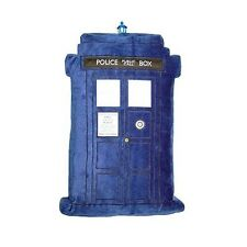 """Doctor Who TARDIS Cushion with Lights and Sounds 20"""" x 10""""  BBC Underground Toys"""