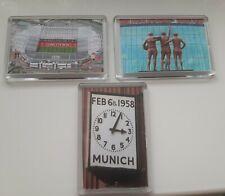 More details for 3 x new manchester united man utd football club fridge magnet gift 45mm x 70mm