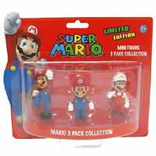 Super Mario Figures 3 Pack Collection