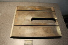 "Vintage Craftsman 8"" Table Saw 103 Base Table Top #5326"