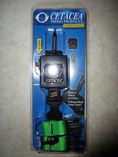 "New listing Diving Cetacea Flashlight/Gear Retractor Locking High Force 32"" Ext Green Nip"