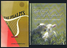 Pair: Psalms for Modern Man in Today's English version + The Lord is My Shepherd