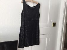 Kookai Black Cocktail/Party Dress. Size M (UK 10/12) Sequins Lovely Great Cond
