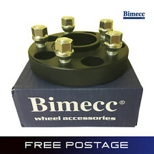2 BIMECC 25mm Wheel Spacers 5x114.3 66.1 Infiniti EX FX G25 G35 G37 JX35 M35 Q45