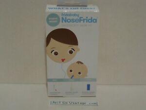 Baby Nasal Aspirator NoseFrida The Snotsucker w/ 10 Extra Hygiene Filters NEW
