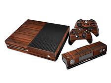 Xbox One Design pelle sventa Adesivo Pellicola Protettiva Set - legno Motif