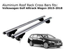 Aluminium Roof Rack Cross Bars fits Volkswagen Golf Alltrack Wagon 2015-2018