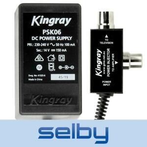 Kingray 14V DC 150mA Power Supply PSK06