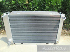 For FORD MUSTANG GLX/LX/GT 1979-1993 MANUAL Aluminum Radiator 80 81 82 83 84 85
