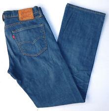 Levis Levi's 527 Herren Men Jeans Hose Straight Denim W34 L34 used Blau TOP A754