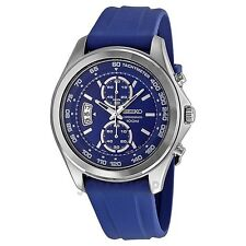 SEIKO SNN261P1 Men's Chronograph Resin Strap Blue