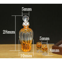 Dollhouse  accessories miniature model props simulation wine bottle  Cw