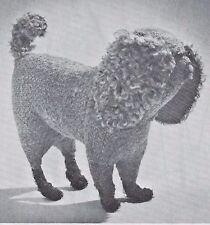 "9""ANTIQUE/VINTAGE STUFFED FOLK ART BENNINGTON TOY/DOLL DOG SEWING PATTERN"