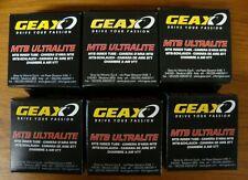 (6) Geax BUTYL MTB Inner Tube 26 x 1.10/1.50 MTB Ultralite Presta 292.157.0 NIB