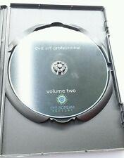 EYE SCREAM FACTORY PROFESSIONAL DVD ART VOLUME TWO 2 Movies Video Film Software