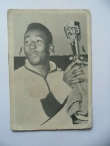Pele 1962 WS-Verlag soccer card World Cup 1962 Brazil
