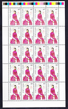 VIETNAM 1999 THE WOMEN'S COSTUMES COMPLETE SET IN FULL SHEET ( 20 SET ) MNH