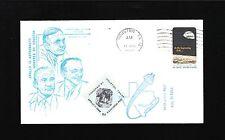 Space NASA Local Post 5c Tied Honors Apollo 11 Crew 1969 Houston b Unaddress 5y