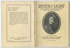 STUDIO OF LIGHT, OCT 1927 VOL 19, MAGAZINE FOR PHOTO PROFESSIONALS