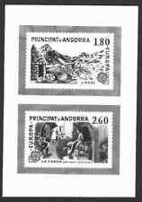 Andorra #307-08 1983 Europa composite photographic proof