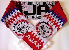 AJAX Football Scarve NEW from Superior Acrylic Yarns