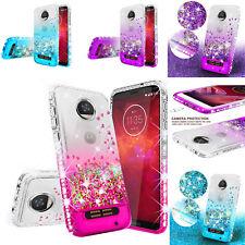Liquid Glitter Phone Case Compatible for Motorola Moto Z2 Play / Z2 Force Case