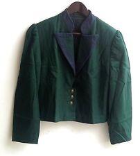 Damen Trachten Janker Jacke grün blau Gr. 38 v. Basset