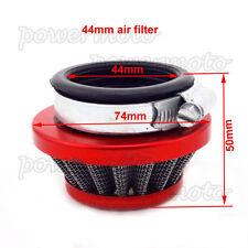 Mini Moto Air Filter 44mm Fit 2 Stroke 47cc 49cc Dirt Pocket Bike Red Quad ATV