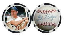 GIL HODGES / BROOKLYN DODGERS - GOLF BALL MARKER / POKER CHIP ***SIGNED***