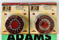 LED Autolamps 2x Maxilamp1XC Stop/Tail/Indicator/Refl 12/24 Volt 4WD/Tray/Truck