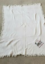 Cream Country Throw Blanket, To Have And To Hold