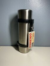 Vintage Coleman Stainless Steel Chrome Vacuum Bottle Thermos 61 oz New w Tag