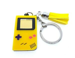 Nintendo CLASSIC CONSOLE Backpack Buddies GAMEBOY COLOR Yellow Keychain