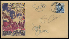 1968 Cream Eric Clapton Concert Featured on Collector's Envelope OP1269