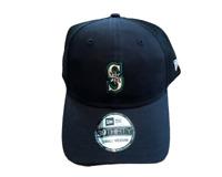 NWT New Seattle Mariners New Era 39Thirty Tonal Logo Small-Medium Flex-Fit Hat