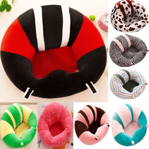 Kids Baby Sofa Support Seat Sit Up Soft Chair Cushion Plush Bean Bag Pillow Toy