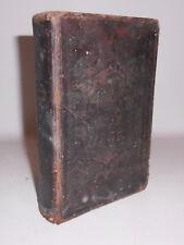 Gesangbuch geistreicher Männer 1843 Zittau & Leipzig Christentum !