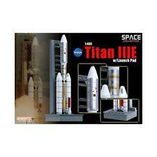 DRAGON SPACE 56343 - 1/400 TITAN IIIE MIT ABSCHUSSRAMPE - FERTIGMODELL