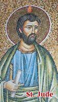 St. Jude, Patron Saint of Desperate Cases, Prayer Card, 10-pack