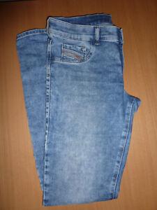 Diesel Livier-S  Jeans Super Slim Jegging Jogging Low Waist W32, blau, neu