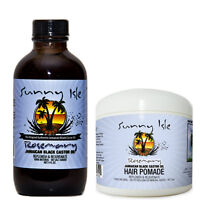 Rosemary Jamaican Black Castor Oil 4 Oz and Hair Pomade Combo