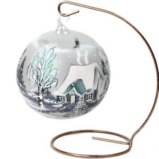 Tealight Tea Light Ball Light Sphere Glass Christmas Ornament for Tealight Stand