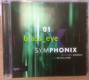 Richard Harvey Symphonix 1 KPM library CD