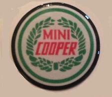 38MM MINI COOPER RESIN 3D DOMED WHEEL CAP STICK  CENTER CENTRE CAPS SLOTMAGS