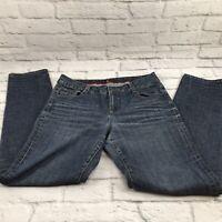 Sassoon skinny leg shuffle Cotton Blue Stretch Jeans Pants Women's Sz 10